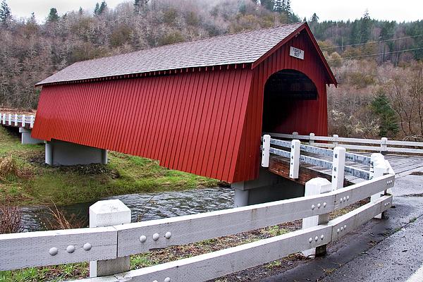 Fisher Covered Bridge Photograph