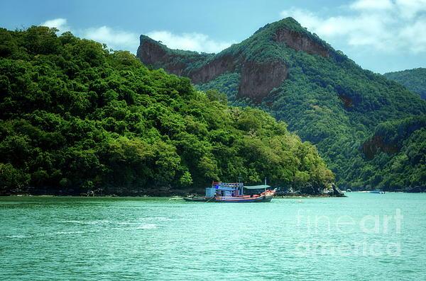 Michelle Meenawong - Fishing Boat At Moo Koh