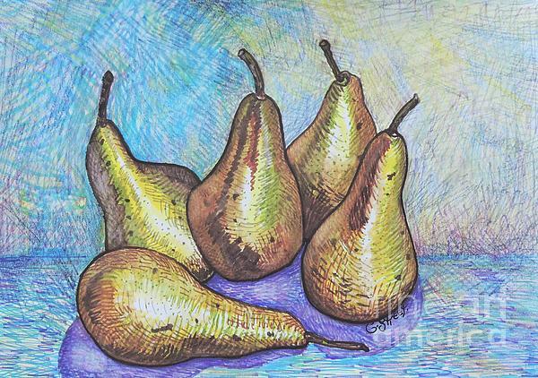Caroline Street - Five Pears