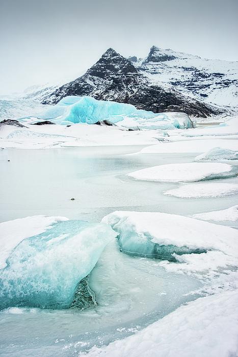 Matthias Hauser - Fjallsarlon Glacier Lagoon Iceland in winter