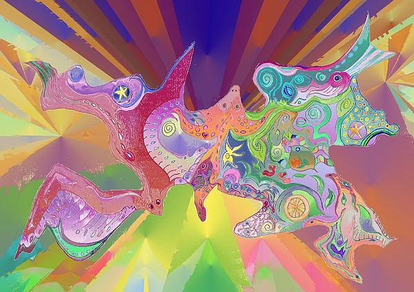 Julia Woodman - Flight of Evolution