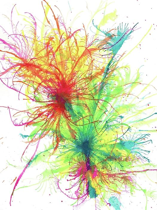 Rainbow Artist Orlando L aka Kevin Orlando Lau - Floating In The Electric Sea #334