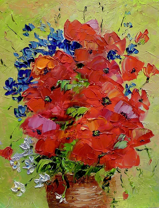Marina Wirtz - Floral Miniatures - Poppies