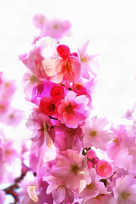 Arthur Charpentier - Flower Girl