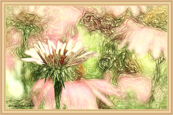 Debra Lynch - Flower Talk In Abstract