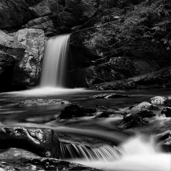Greg Mimbs - Flowing Water On BW Film