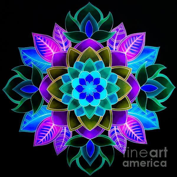 Cfnatycf - Fluorescent flower
