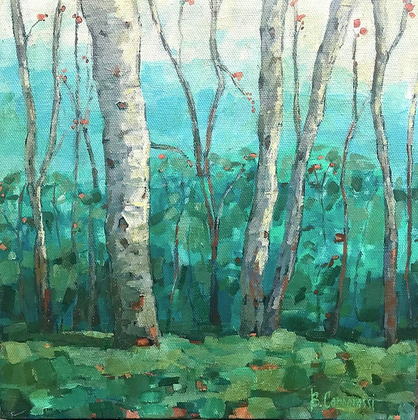 Beth Capogrossi - Flushed Birches