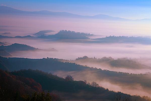 Joan Carroll - Foggy Italian Countryside