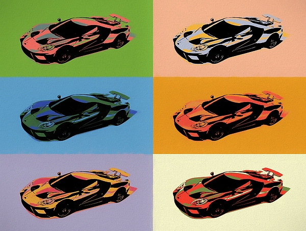 Dan Sproul - Ford GT Pop Art