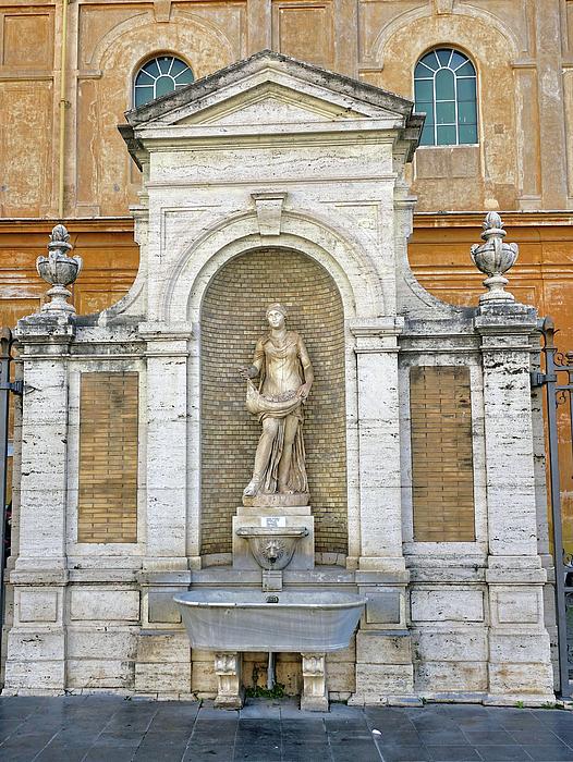 Richard Rosenshein - Fountain In The Vatican City