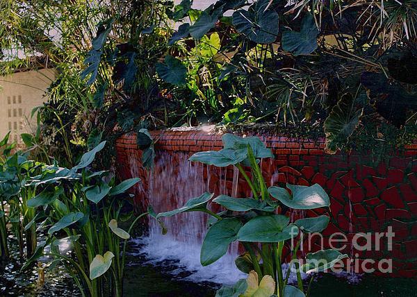 Jenny Revitz Soper - Fountain of the Southern Garden