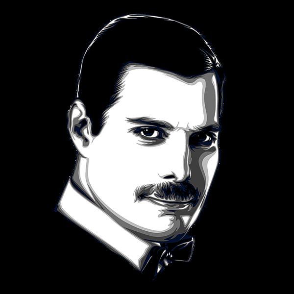 Vector Freddie Mercury Illustration - Download ...
