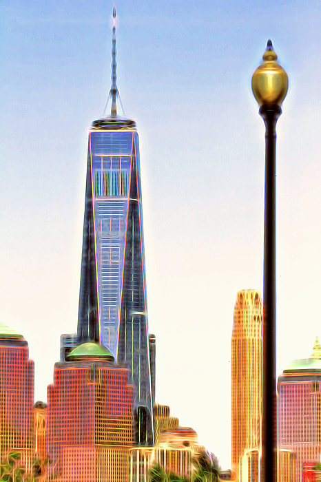 Geraldine Scull - Freedom Tower in NYC