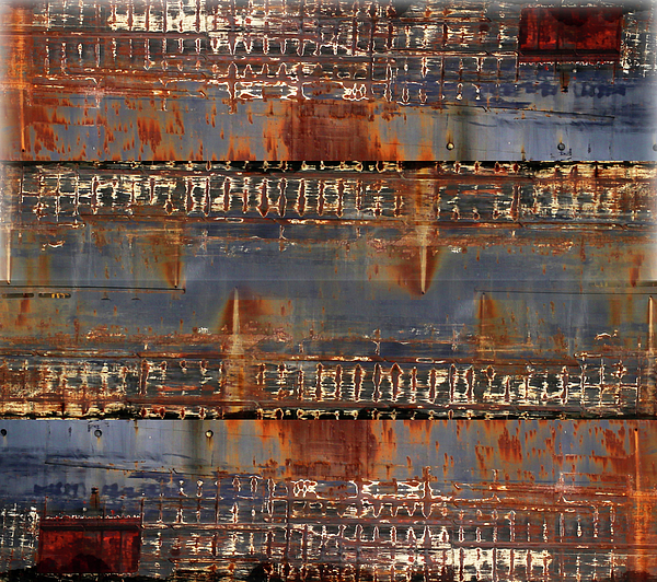 Mary Bedy - Freighter Abstract 11