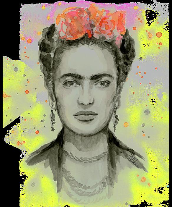 Frida Kahlo Portrait Women's T-Shirt for Sale by Olga ...