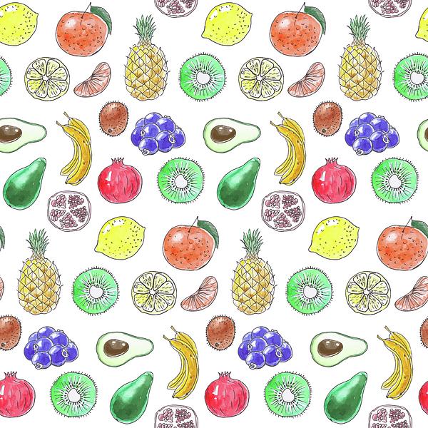 Katerina Kirilova - Fruit pattern