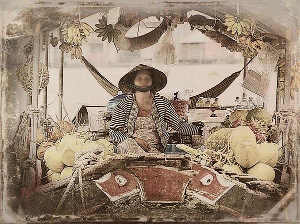 Toni Abdnour - Fruit Vendor On The Mekong