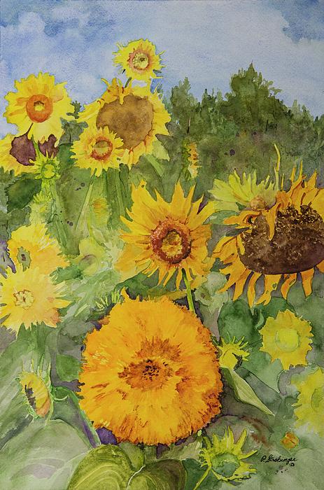 Patty Strubinger - Garden of Sunflowers
