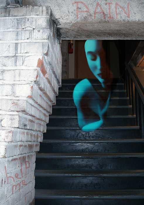 Jaeda DeWalt - Ghost of Pain - Self Portrait