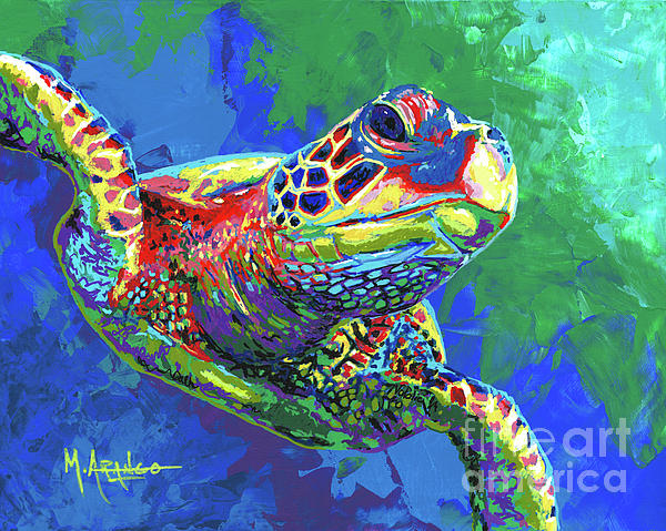 Maria Arango - Giant Sea Turtle
