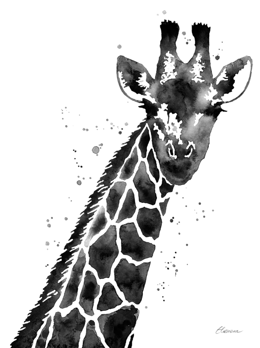 giraffe-in-black-and-white-hailey-e-herrera-transparent Painting Outside Of Mobile Home on drawing of mobile home, painting the exterior of your home, painting interior mobile home, improving the exterior of a manufactured home, painting over mobile home walls, color of mobile home,