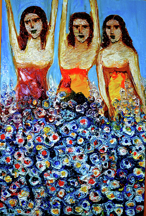 Anand Swaroop Manchiraju - Girls With Flowers