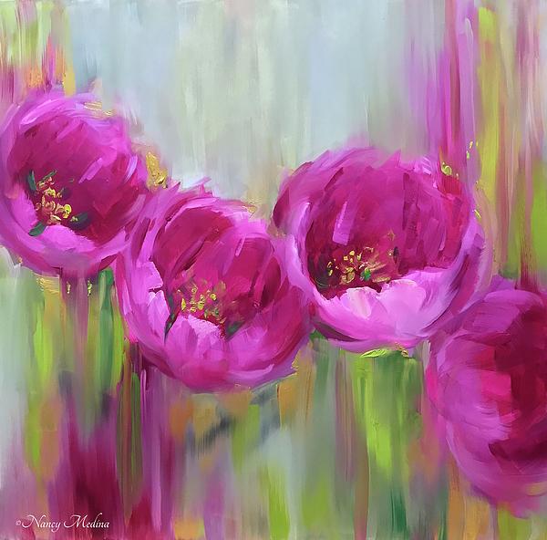 Nancy Medina - Given Time Pink Tulips