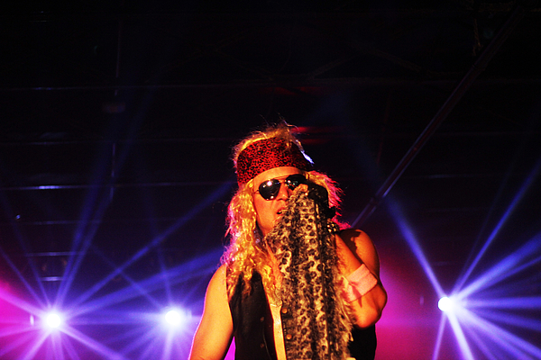 James Hammen - Glam Rock Lead Singer