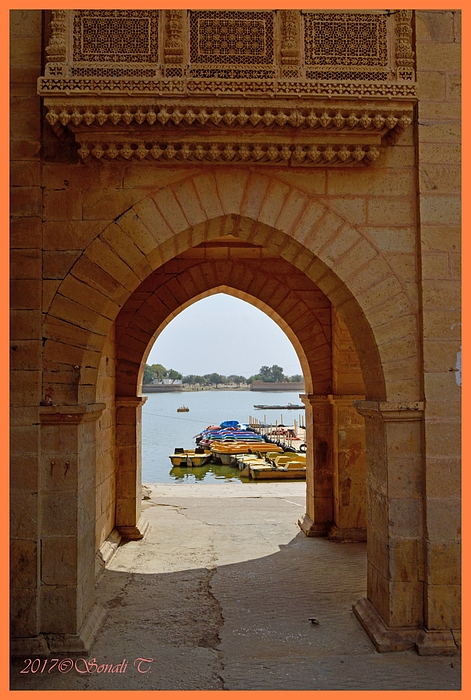 Sonali Gangane - Glimpse of Gadisar Lake