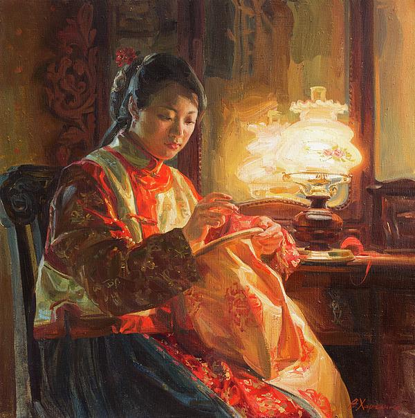 Victoria Kharchenko - Golden silk