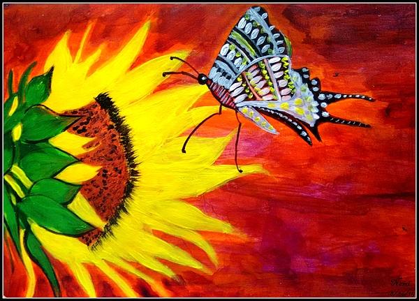 Namrata Patel - Golden Sunflower