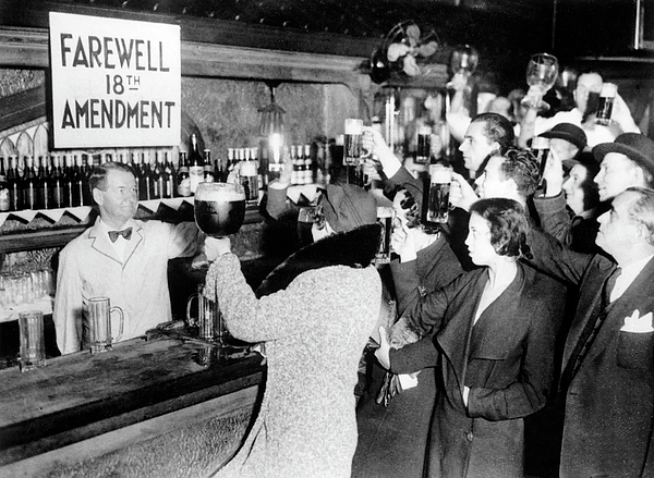 Daniel Hagerman - Goodbye Prohibition Toast 1933