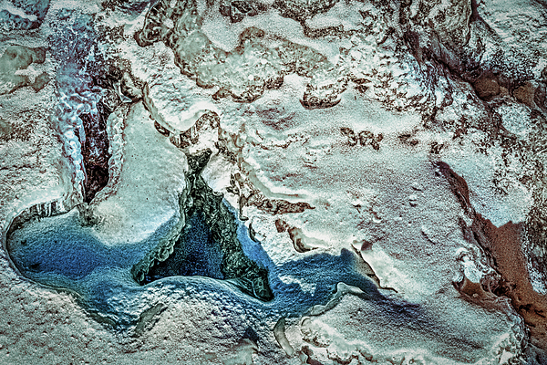 Stuart Litoff - Great Falls Ice Abstract #4