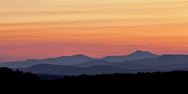 Alan L Graham - Green Mountain Sunset Panorama