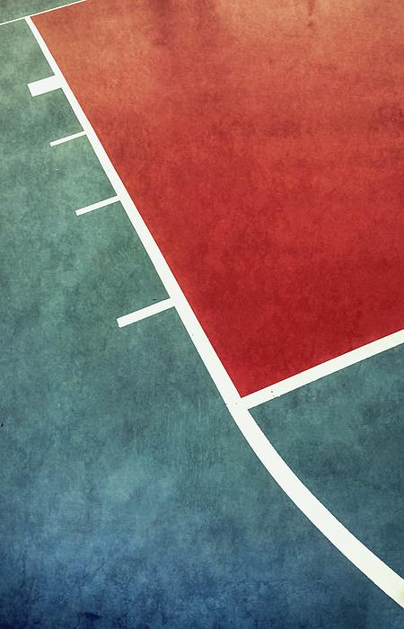 Gary Slawsky - Grunge On The Basketball Court