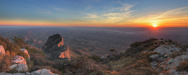Rob Greebon - Guadalupe Mountains National Park at Sunset 1
