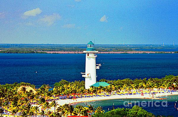 Kathleen Struckle - Harvest Caye Lighthouse