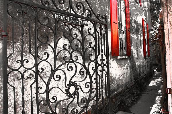 Debra Larabee - Haunted Courtyard