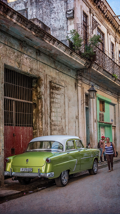 Joan Carroll - Havana Street Scene