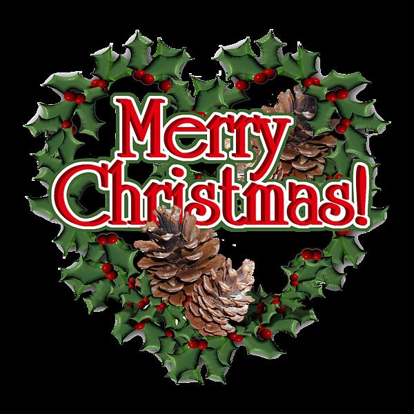 Christmas Heart Wreath.Heart Shaped Wreath Merry Christmas Tote Bag