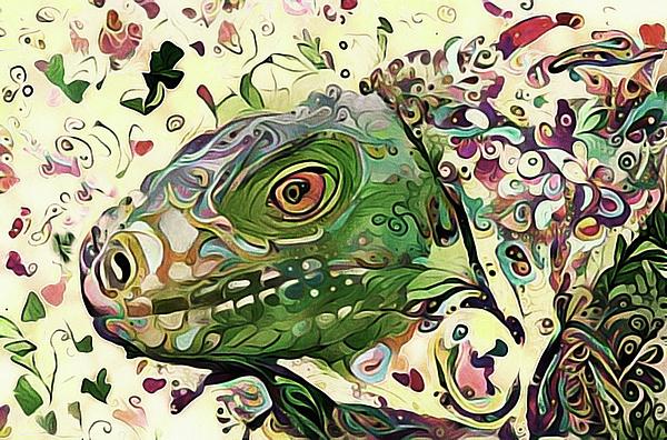 Susan Maxwell Schmidt - Hello Mr. Lizard