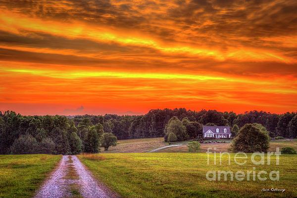Home Sweet Home Lick Skillet Road Sunset Georgia Rural Art Iphone X Case
