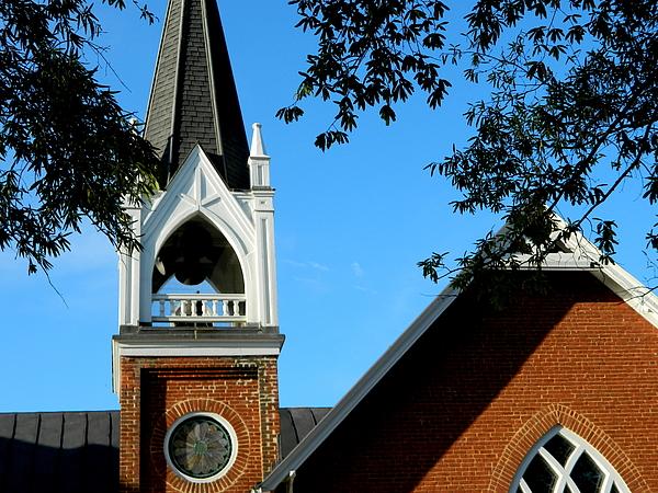 Arlane Crump - HOMETOWN Series - Orange Baptist Church