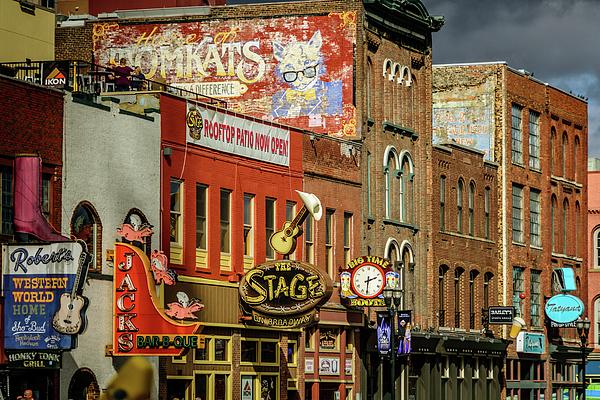 Debra Martz - Honky Tonk Row - Nashville TN