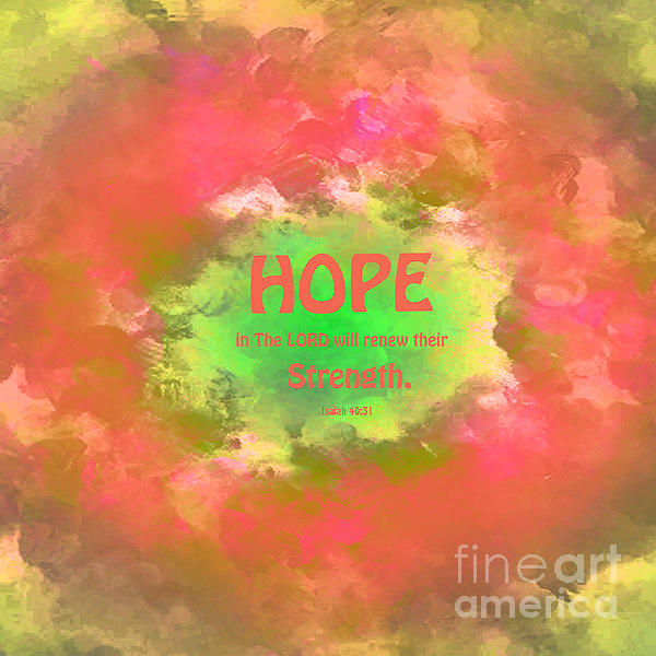 Beverly Guilliams - Hope in The LORD Abstract