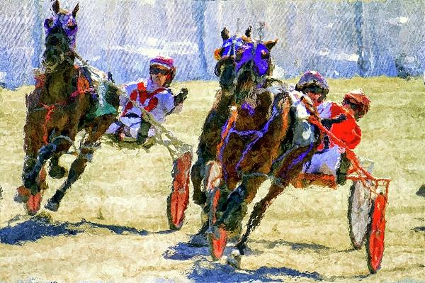 Geraldine Scull - Horse close up