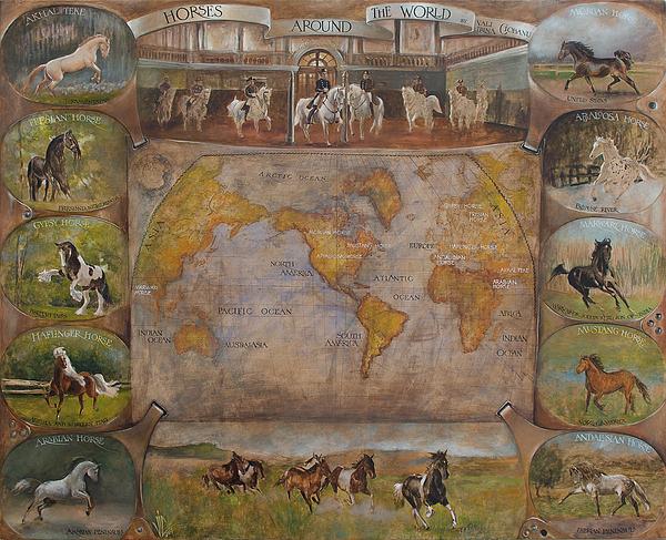 Vali Irina Ciobanu - Horses around thr world