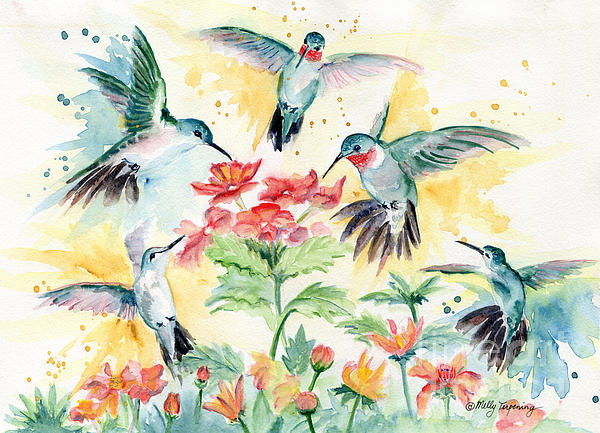 Melly Terpening - Hummingbirds Party