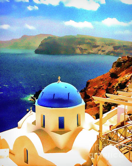 Bob Lentz - Iconic Anastaseos Oia Santorini Greece